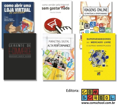 Livro de Marketing Digital e Livro de e-commerce