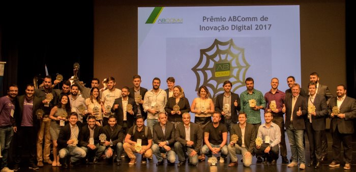 Vencedores do Premio ABComm 2017